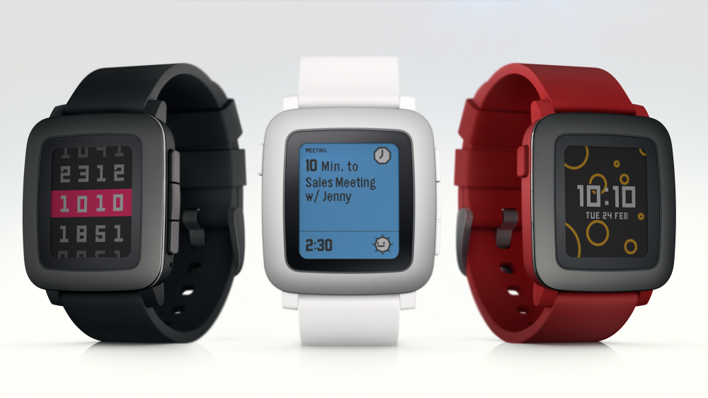 Pebble Time Lineup