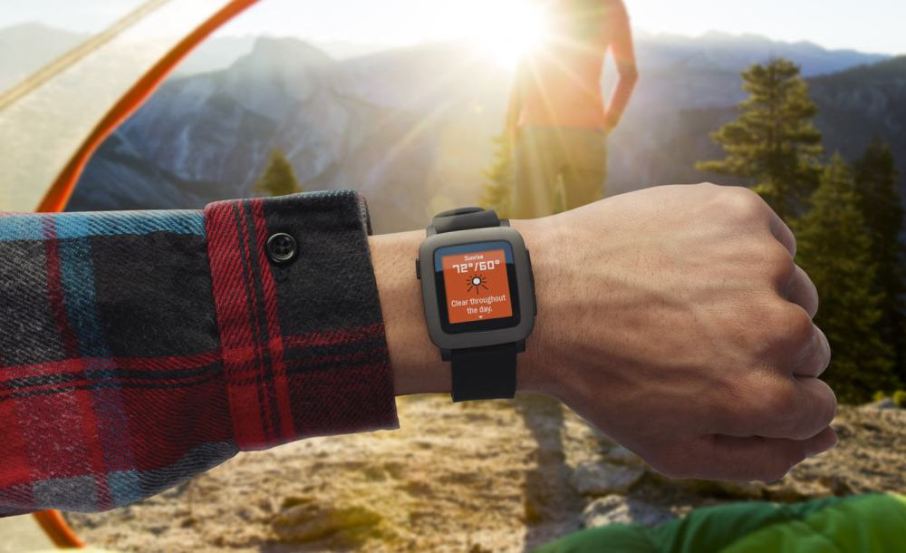 pebble time smartwatch sale