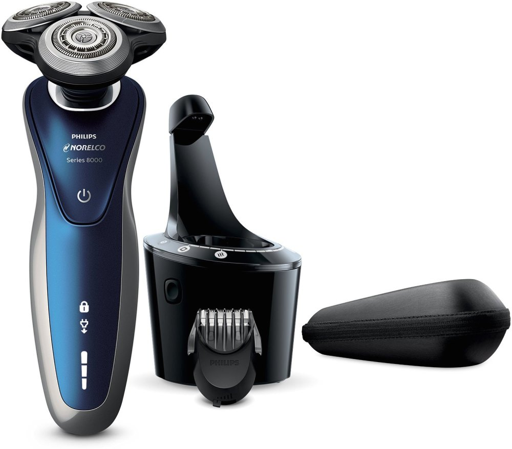 Philips Norelco Electric Shaver 8900, Special Wet & Dry Edition-sale-01