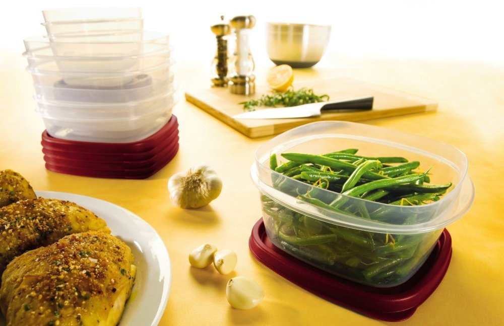 Rubbermaid Plastic 42-Piece Easy Find Lid Food Storage Set-sale-01
