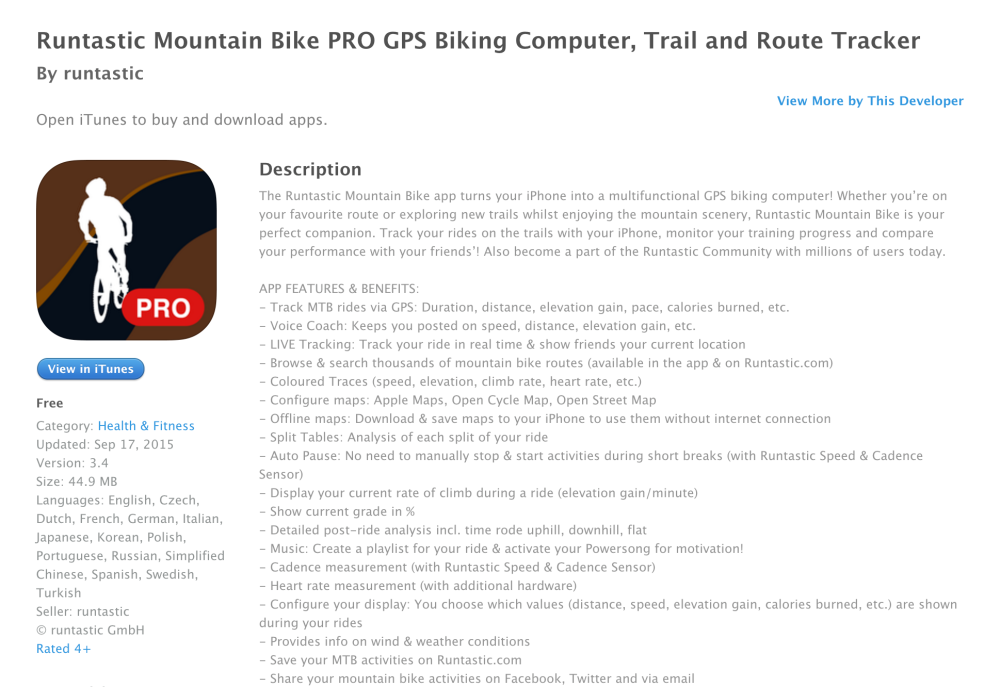 Runtastic Mountain Bike PRO GPS for iPhone-04