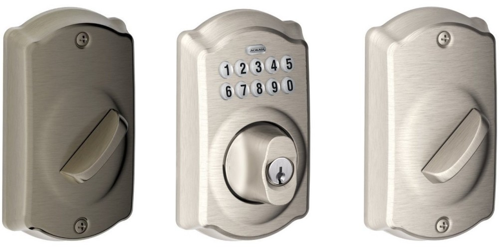 Schlage Camelot Keypad Deadbolts-Gold Box-Amazon-sale-02