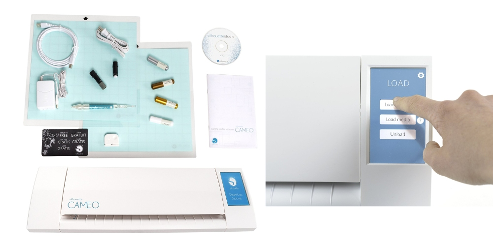 Silhouette Cameo electronic cutting machine starter kit-sale-04
