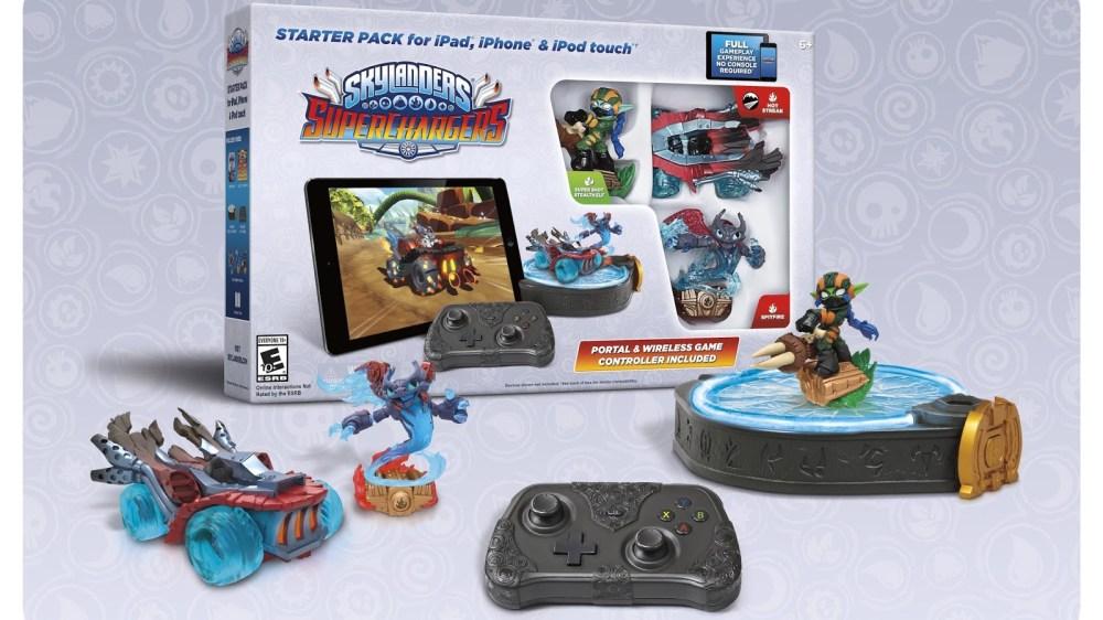 Skylanders SuperChargers Starter Pack - iPad-sale-01