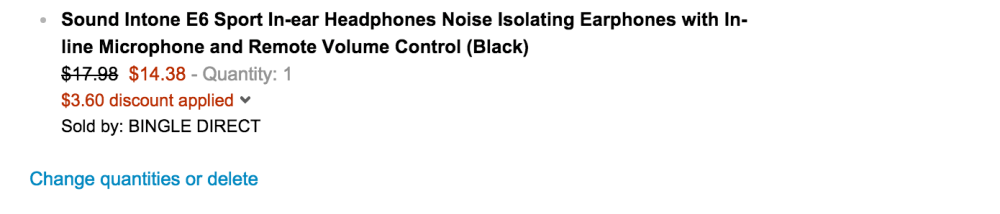 Sound Intone E6 Sport In-ear Noise Isolating Earphones with In-line Microphone and Remote Volume Control-sale-02