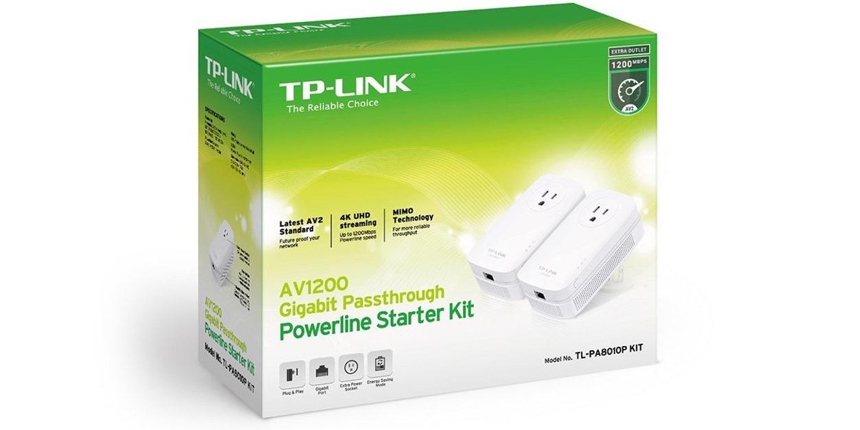 TP-Link-powerline adapters