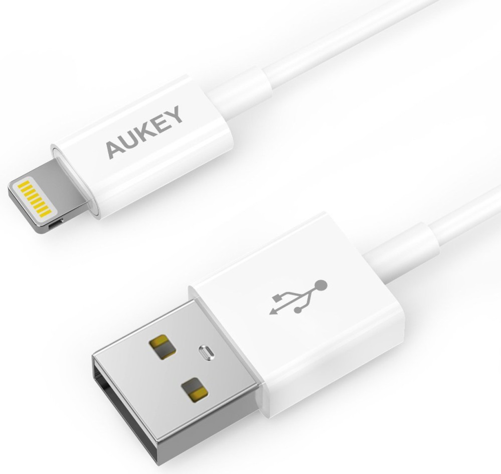 Two pack of Aukey MFi Lightning Cables