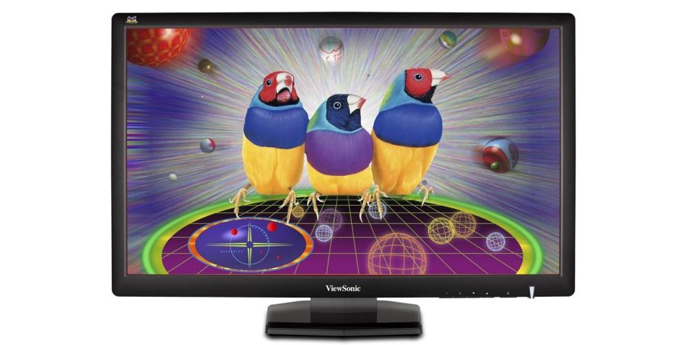 ViewSonic VX2703MH-LED 27-Inch LED-Lit LCD Monitor, Full HD 1080p, 3ms, HDMI:DVI:VGA, Speakers, VESA