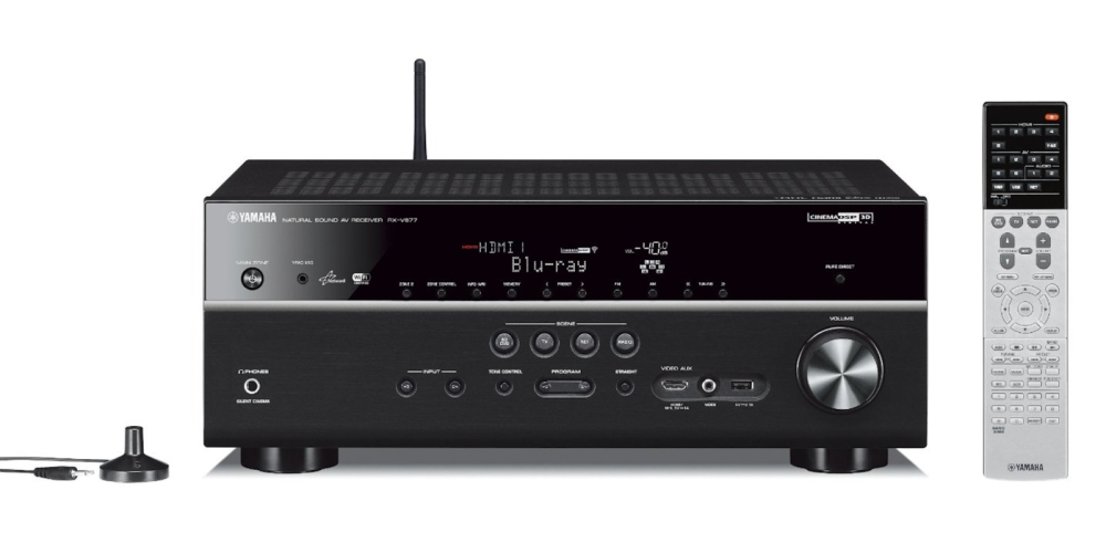Yamaha 7.2-channel 4K Wi-Fi Network AV Receiver