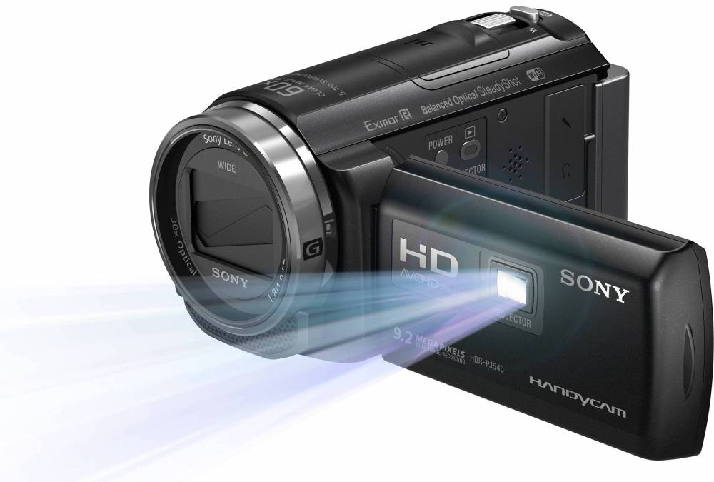 32GB HDR-PJ540 Full HD Handycam Camcorder with Built-in Projector (Black)