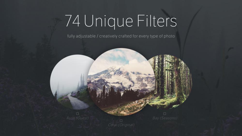 Afterlight image editing app