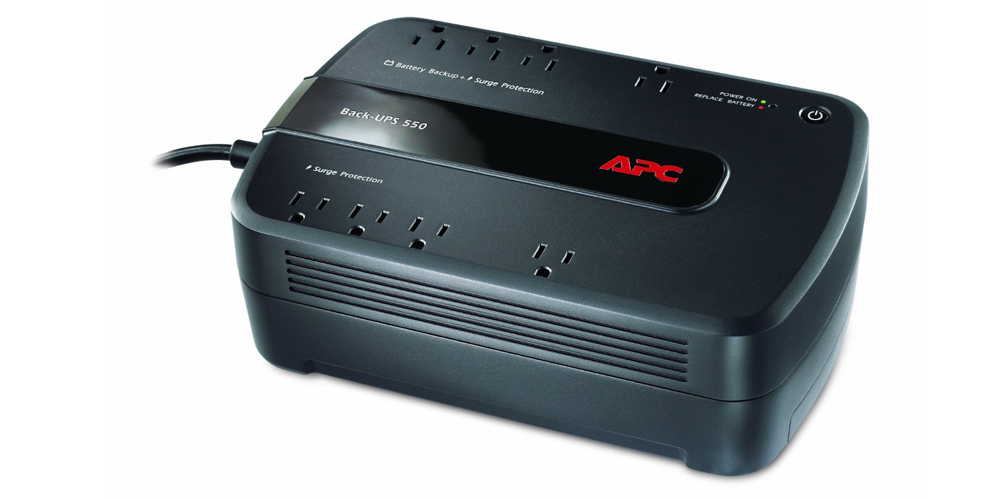 APC BE550G Back-UPS 550VA 8-outlet Uninterruptible Power Supply