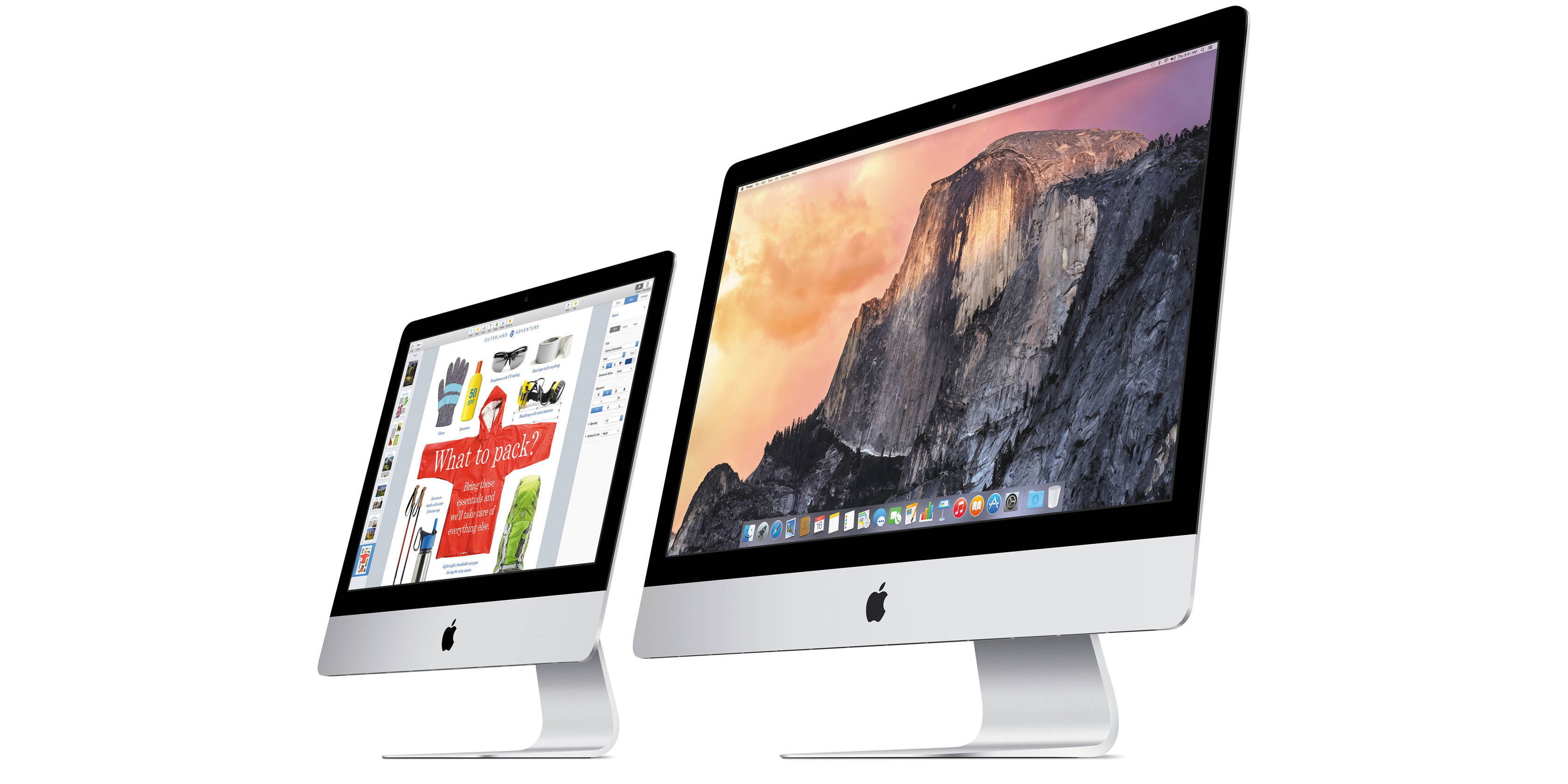 Apple's latest iMacs are up to $200 off with deals from $1,000 (tax select states only)