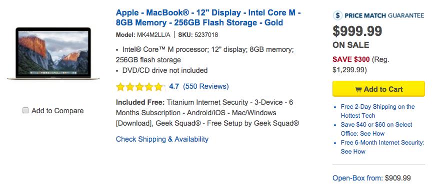Apple MacBook Best Buy