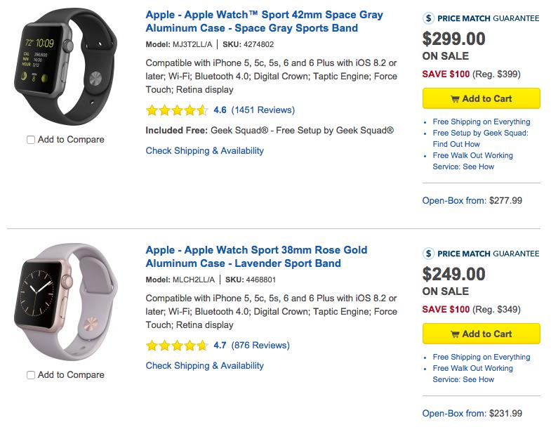 Apple Watch Best Buy