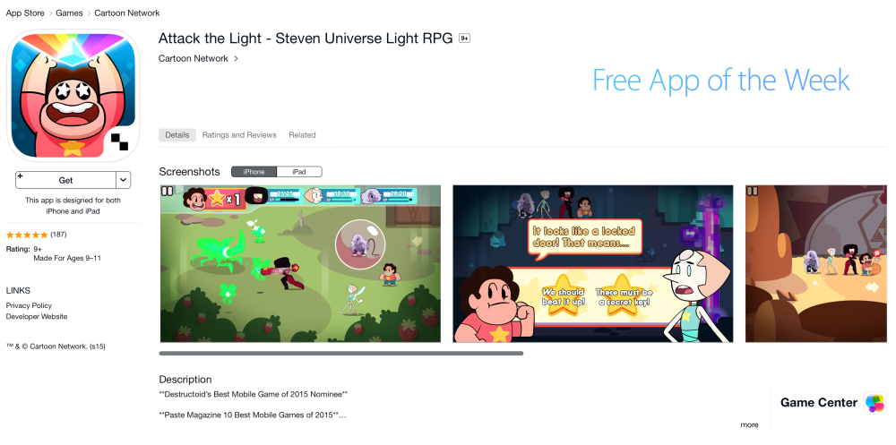 Attack the Light - Steven Universe Light RPG-7