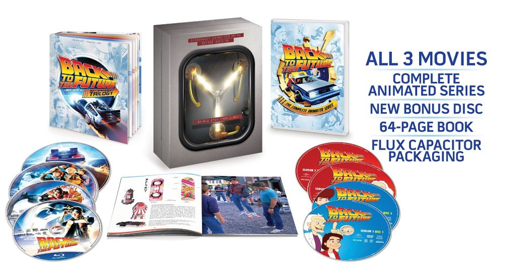 Back to the Future The Complete Adventures [Blu-ray]