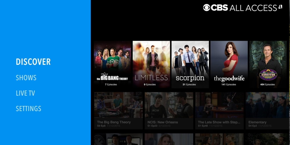 chromecast free access to CBS