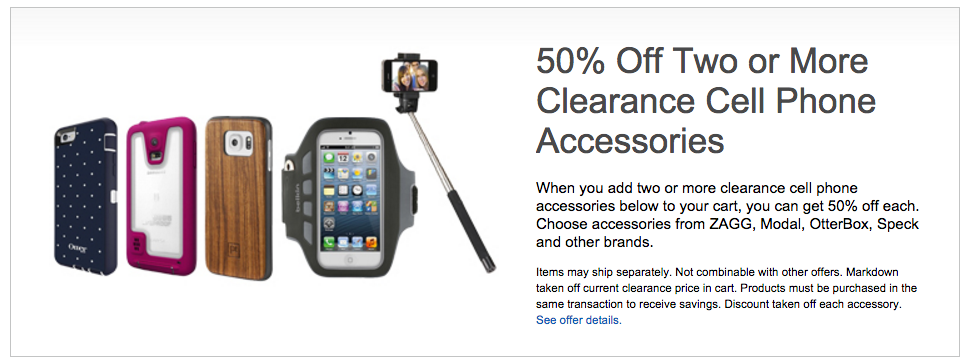 Clearance Cell Phone Accessories