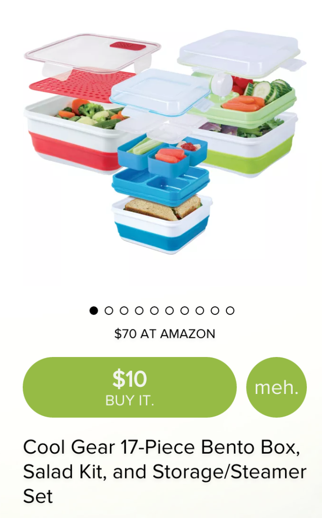Cool Gear 17-Piece Bento Box, Salad Kit, and Storage:Steamer-02