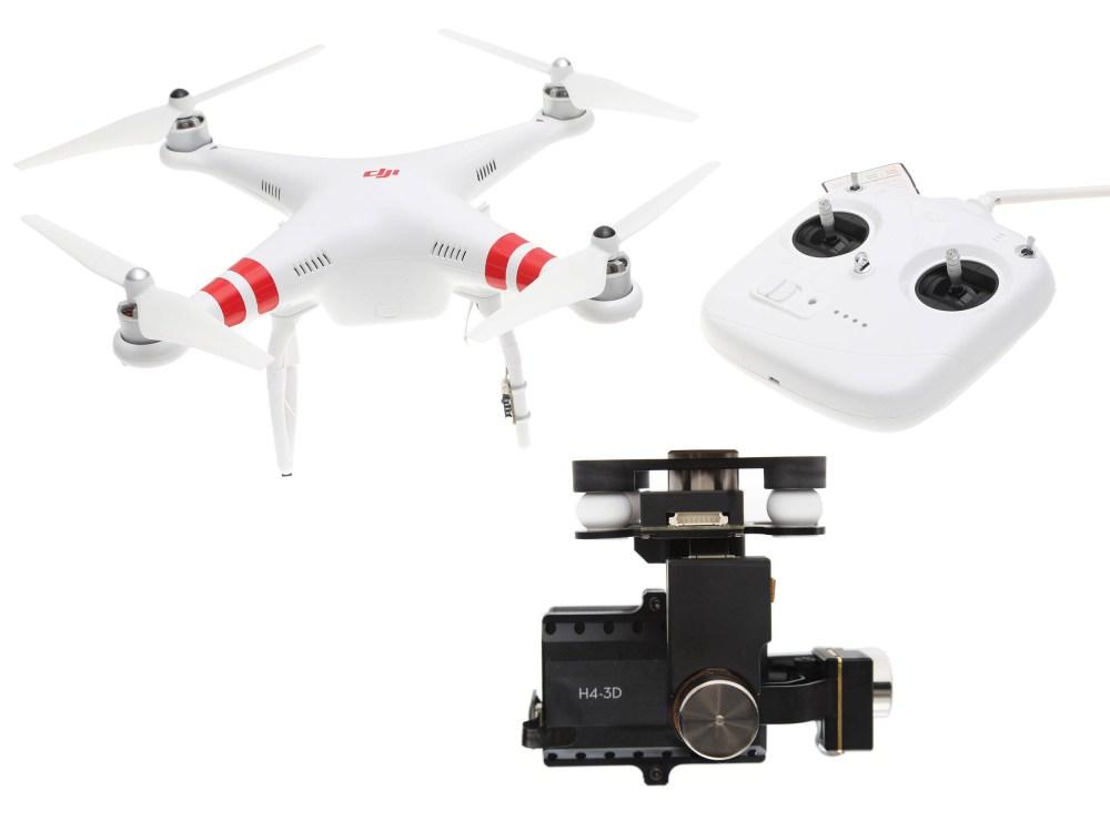 DJI Phantom 2 Quadcopter v2.0 with Zenmuse H4-3D Gimbal Kit