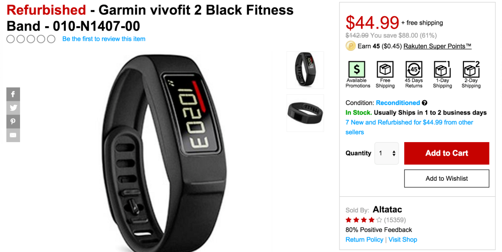 Garmin vivofit 2 Black Fitness Band-sale-02