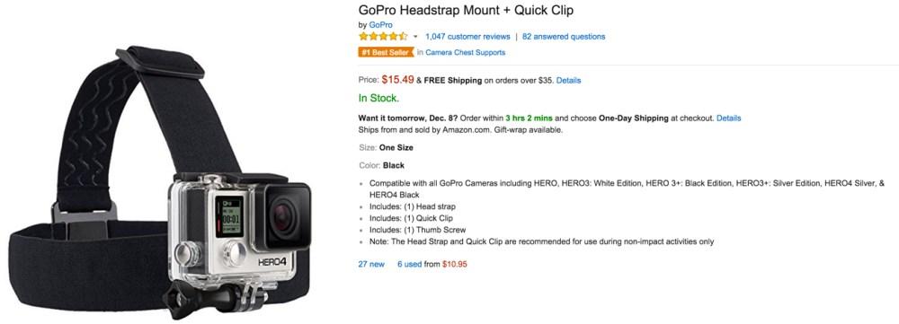 gopro headset