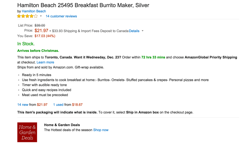 Hamilton Beach Breakfast Burrito Maker-sale-03