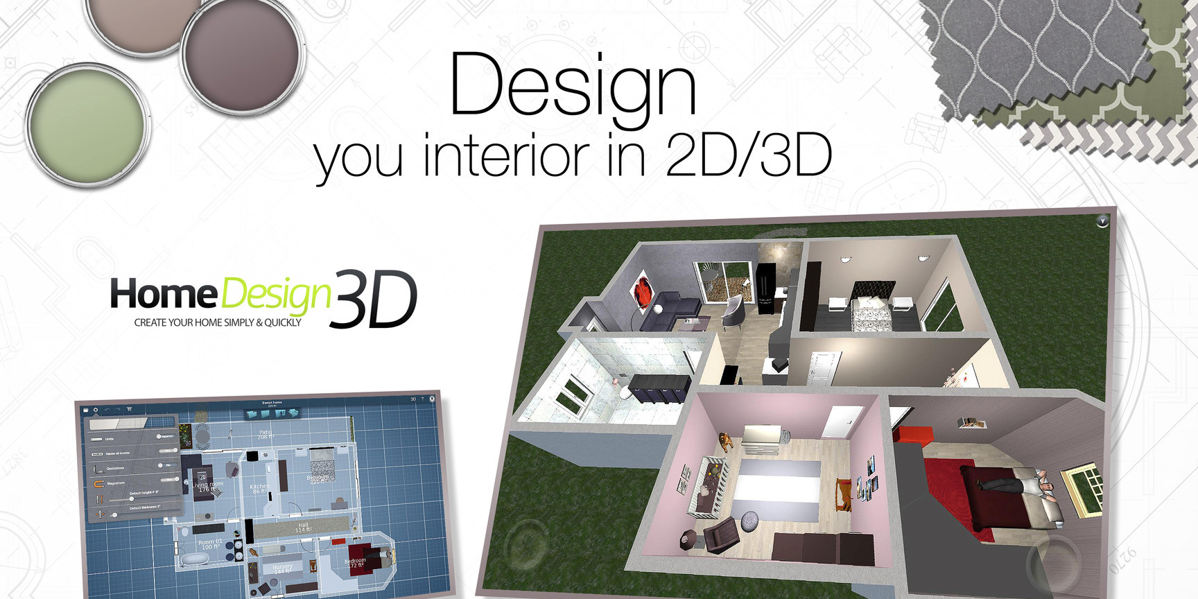 Home Designer 3D For IOS/Mac Goes Free For The First Time