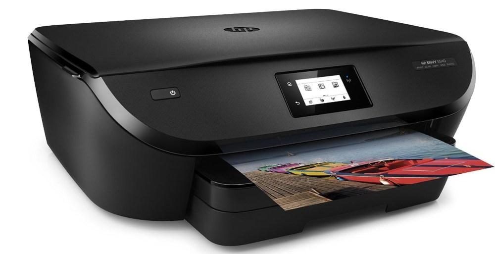 HP - ENVY 5540 Wireless All-In-One Printer - Black