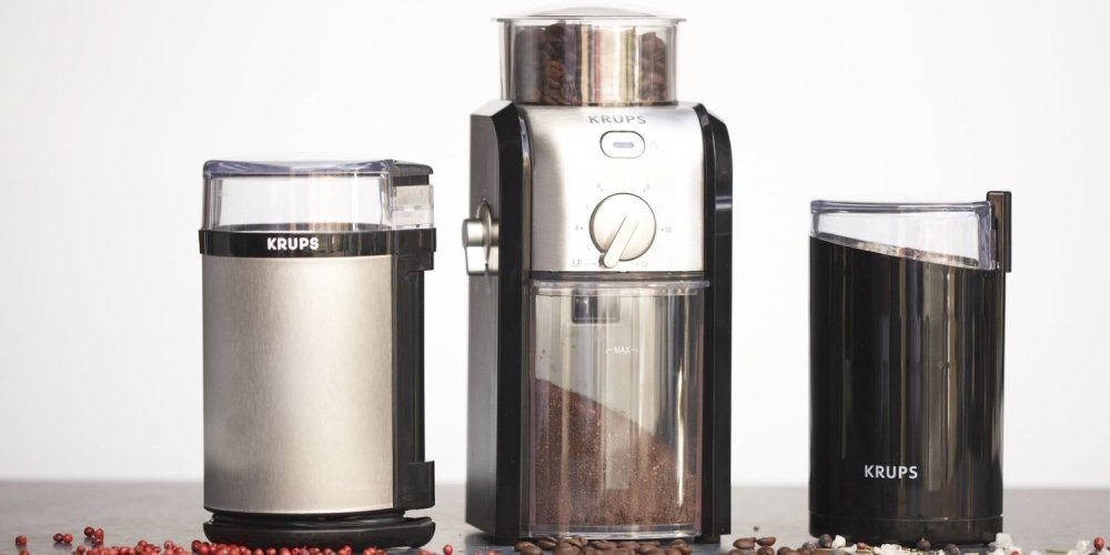 KRUPS Stainless Steel Conical Burr Coffee Grinder-sale-01