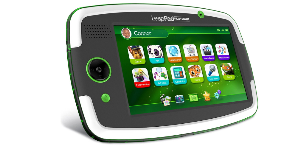 """Make sure this fits by entering your model number. The LeapFrog LeapPad Platinum tablet features a 7"""" hi-res multi-touch capacitive screen with sharp, crisp graphics, a fast and powerful processor and a ."""