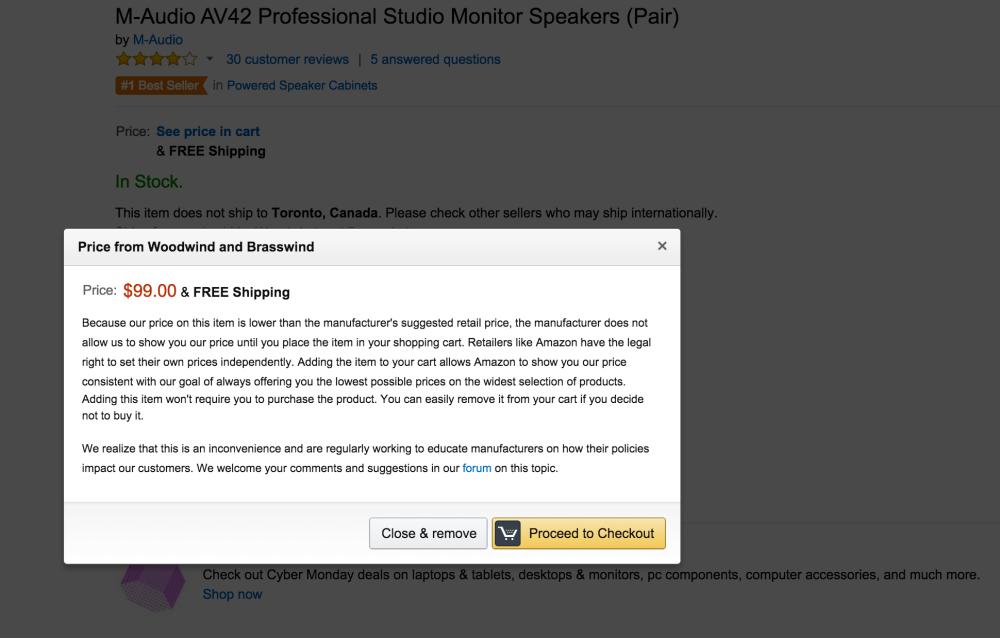 M-Audio AV42 Professional Studio Monitor Speakers (Pair)-sale-03