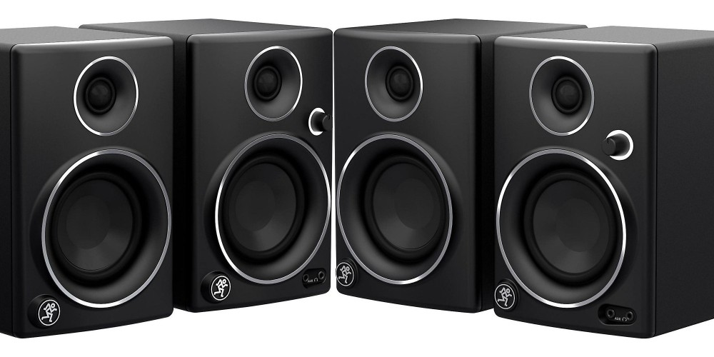 Mackie Limited Edition CR3 3%22 Multimedia Monitors (Pair)-sale-01