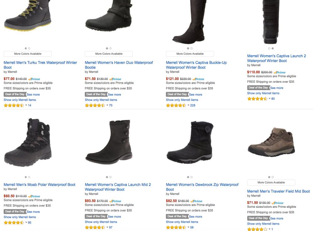 Merrell Winter Boots Amazon