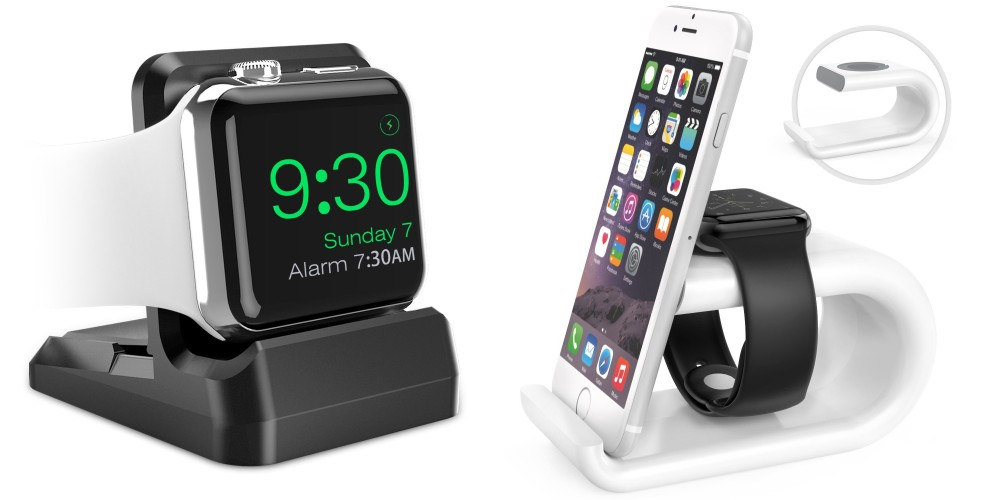 MoKo Acrylic Dual Apple Watch & iPhone Stand-sale-01