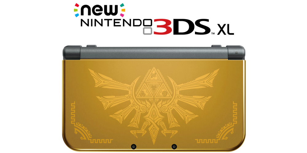 Nintendo 3DS XL Hyrule Gold Limited Edition-sale-01