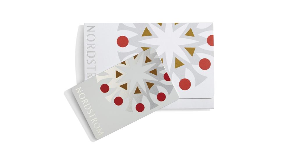 Nordstrom 100 dollar gift card
