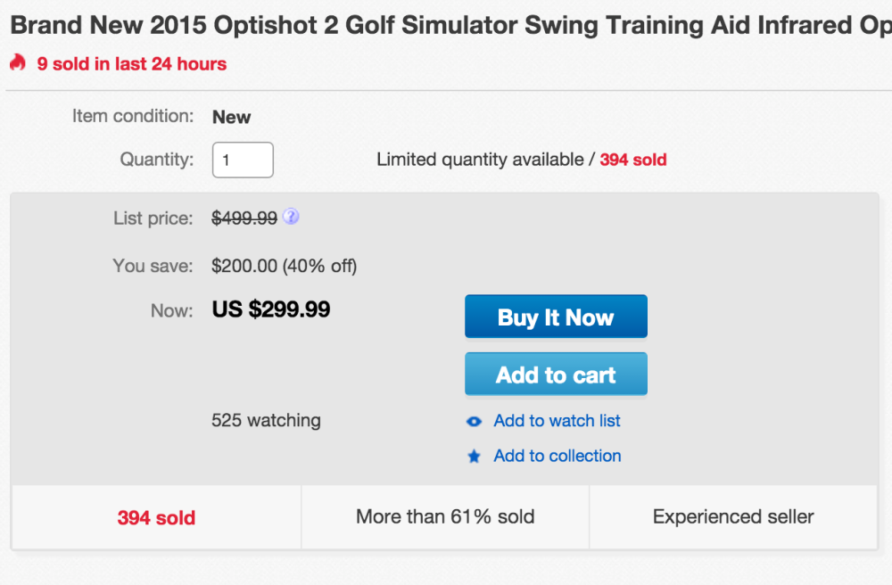 OptiShot 2 Golf Simulator Swing Training Aid-sale-02