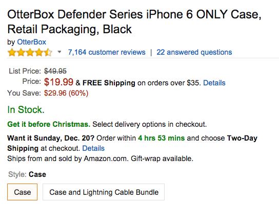 OtterBox Defender Series iPhone Amazon