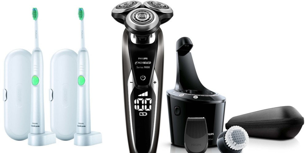 Philips Norelco Electric Shaver 9700 with Cleansing Brush