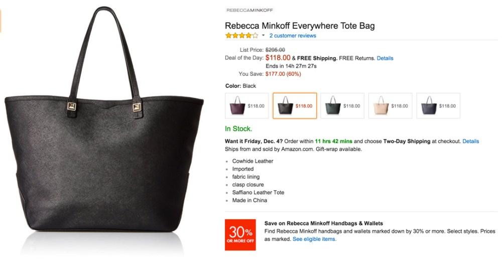 Rebecca Minkoff Everywhere Tote Bag