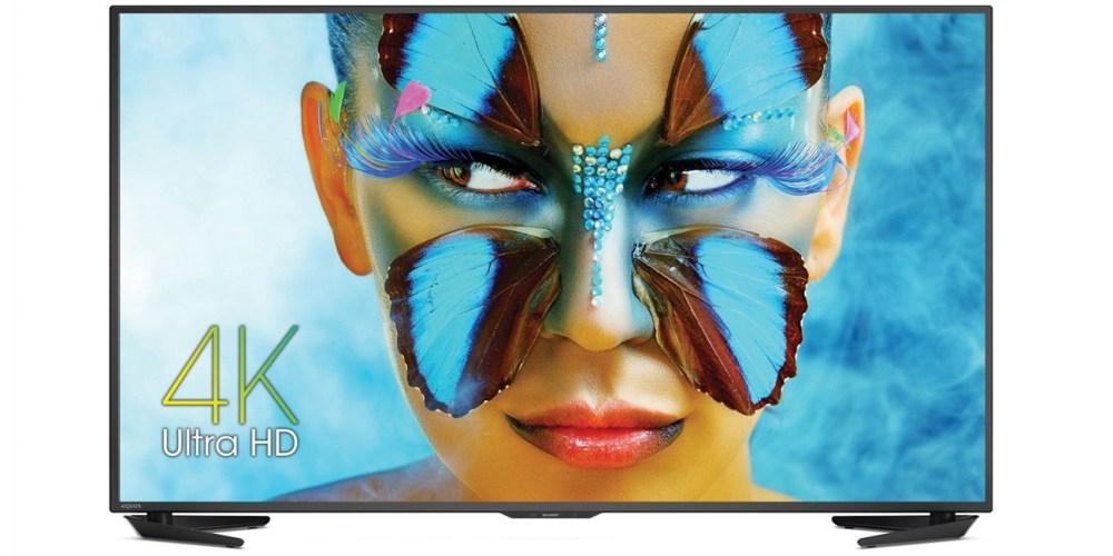 Sharp LC-55UB30U 55-Inch 4K Ultra HD Smart LED TV (2015 Model)