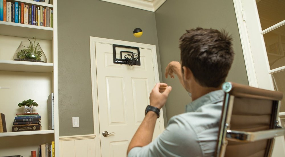 SKLZ mini basketball hoop