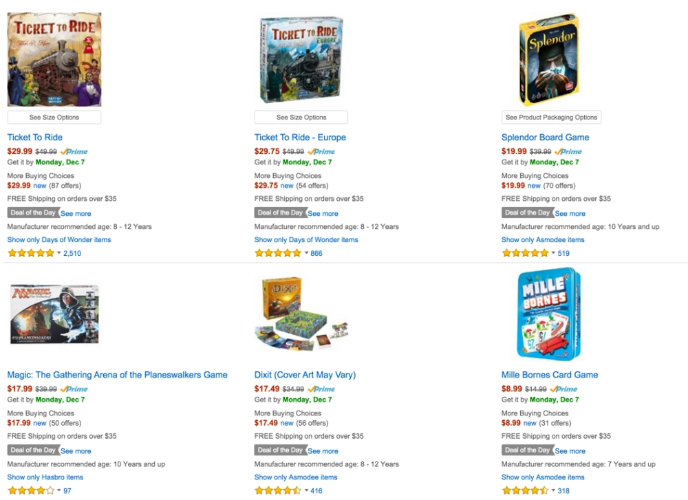 Strategy Board Games Deal of the Day