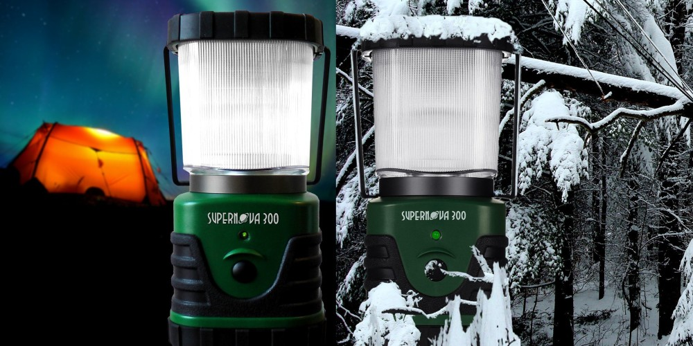 Supernova 300 Lumens Ultra Bright LED Camping and Emergency Lantern-3