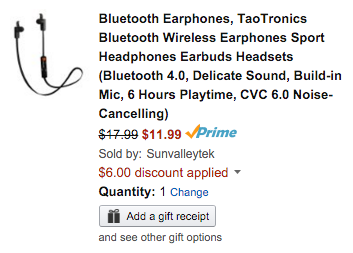 taotronics-earbuds-amazon-deal