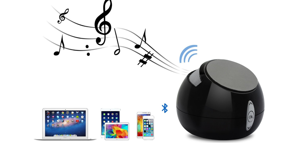 TechMatte Sound Pod Bluetooth Speaker