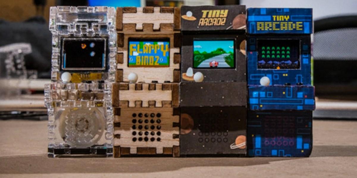 Tiny Arcade Consoles