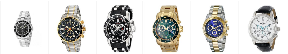Top Invicta Watches-Amaozn Gold Box